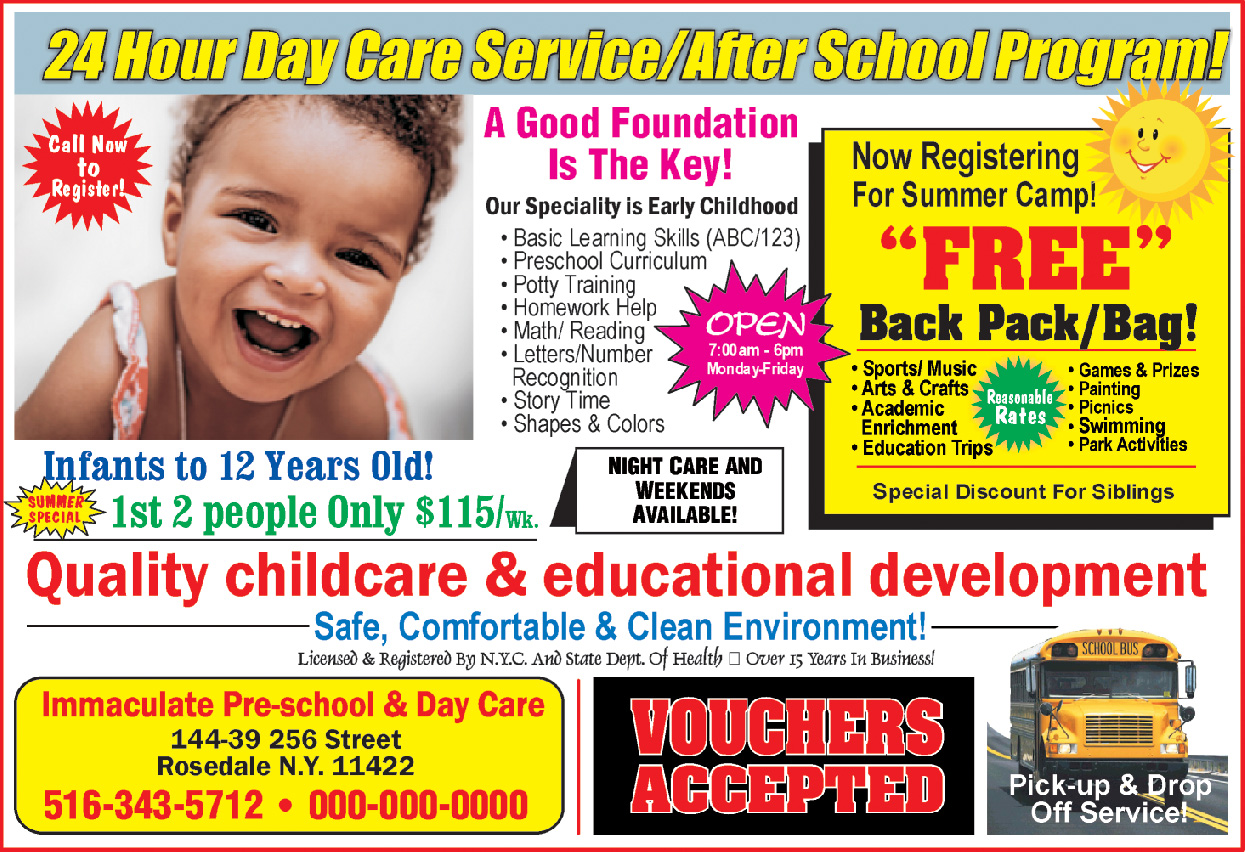 Immaculate Pre-School & Daycare